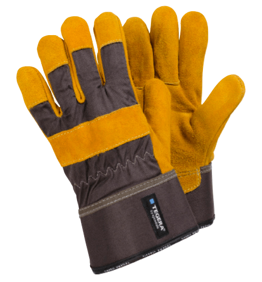 guantes serraje