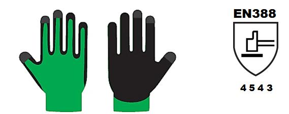 guantes en388
